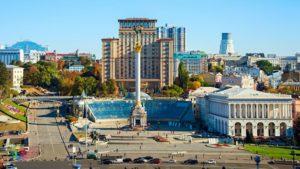Ukrayna, Kiyev, Müstəqillik meydanı