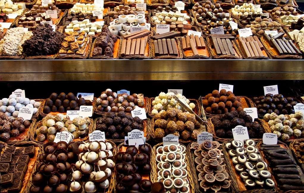 Paris şokoladları