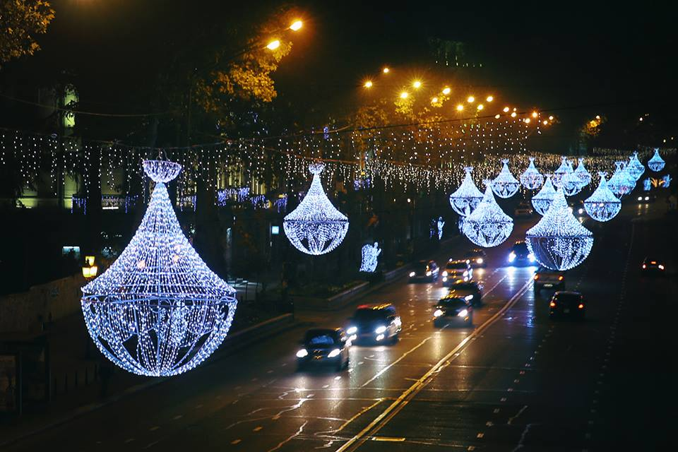 Tbilisidə yen il