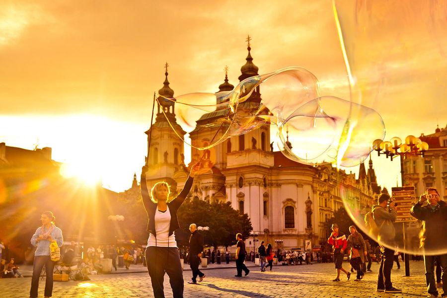 Çexiya Respublikası, Praqa, Old Town meydanı