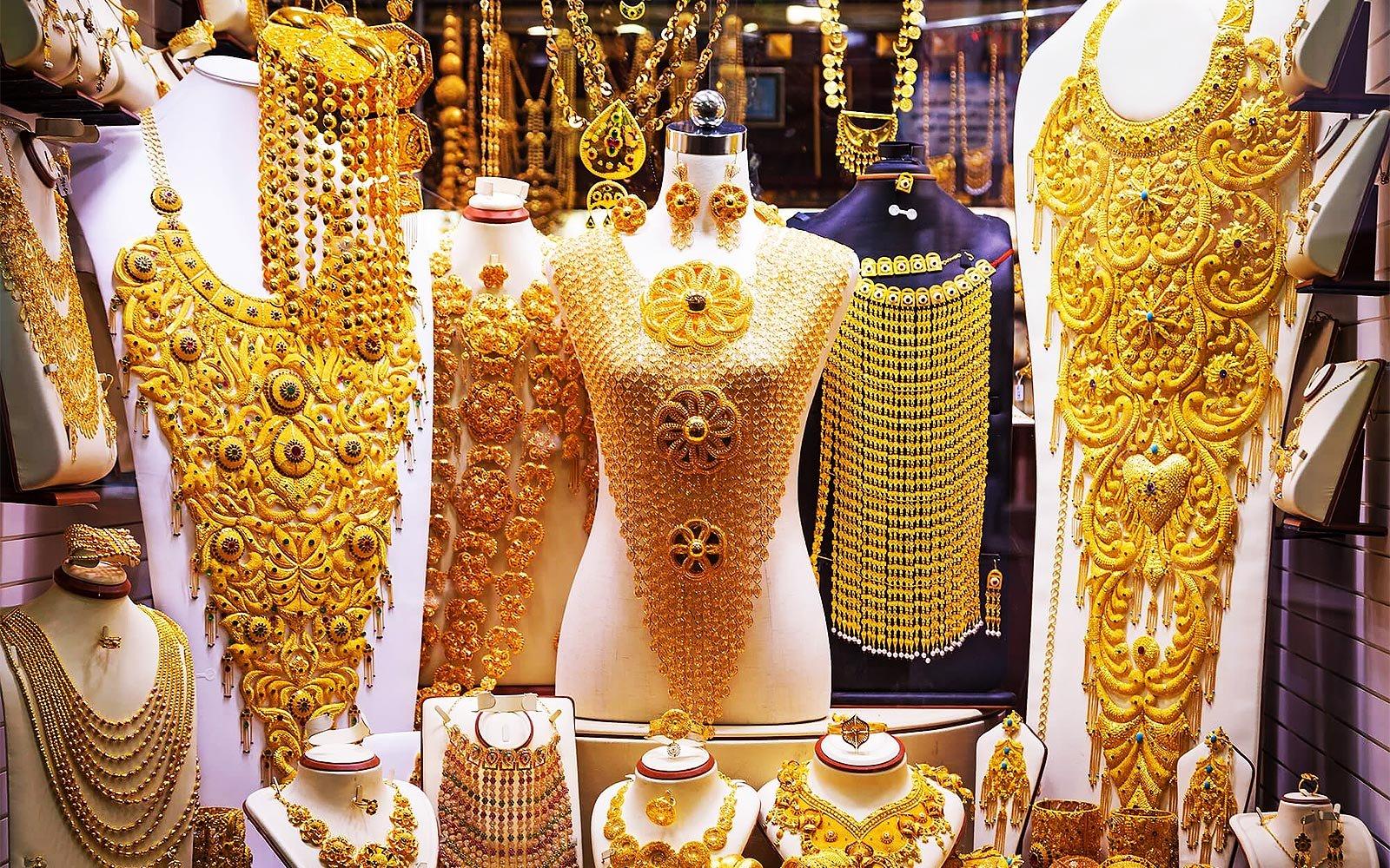 Dubay Qızıl Univermağı (Dubai Gold Souk)