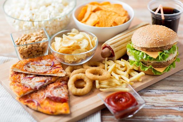 Nyu Yorkda Fast Food
