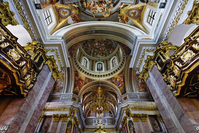 Ljubljana, Slovenia, The St Nicholas Cathedral