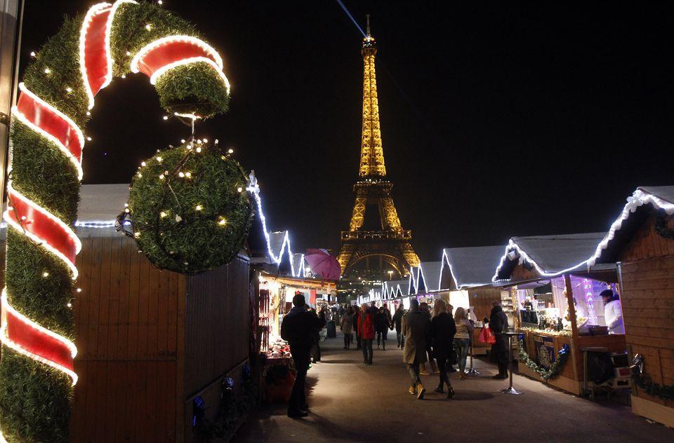 Parisdə yen il